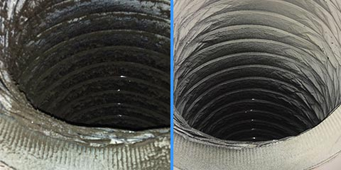 Before & After of Air Duct Cleaning Miami, FL