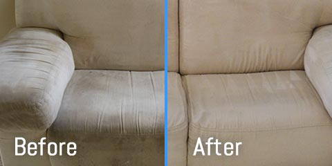 Before & After of Upholstery And Furniture Cleaning Boston, MA