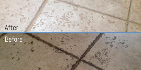 Before & After of Tile And Grout Cleaning Boston, MA