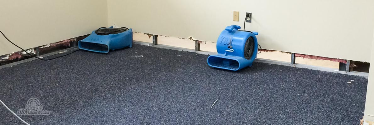 Dehumidification After Water Damage
