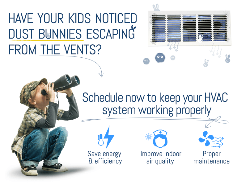 Have You Noticed Dust Bunnies Escaping From The Vents??