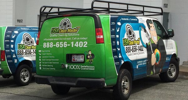 USA Clean Master Cleaning Trucks